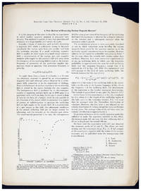 1. A new method of measuring nuclear magnetic moment. 2. The magnetic moments of 3Li6, 3Li7, and 9F19. 3. The molecular beam resonance method for measuring nuclear magnetic moments. 3 offprints