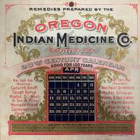 20th Century Moveable Calendar Good for 100 Years--Advertising Card