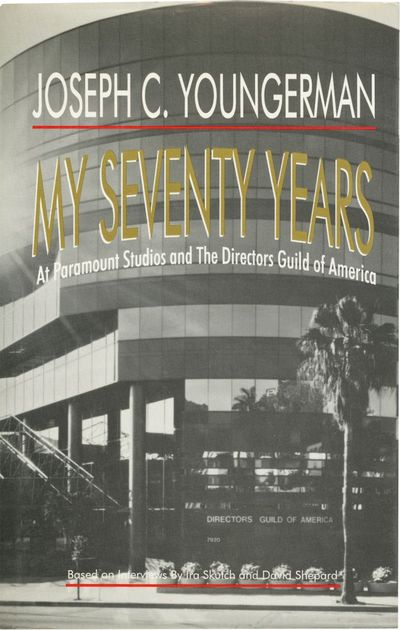 Los Angeles: Directors Guild of America, 1995. First Edition. First Edition. Youngerman began his ca...