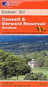 image of Consett and Derwent Reservoir: Stanhope (Explorer Maps)