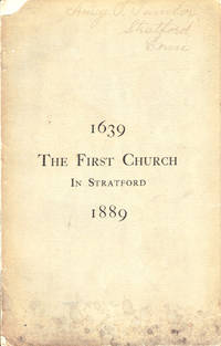 The Quarto-Millenial Anniversary of the Congregational Church  of Stratford, Connecticut