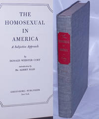 image of The Homosexual in America: a subjective approach