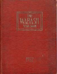 The Wabash Year Book 1922 Volume 1