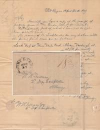 Letter from a Superintendent of Repair on the Erie Canal to the Deputy Comptroller of New York reporting the monthly salaries of the five locktenders under his supervision
