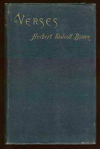 Boston: Cupples, Upham and Company, 1884. Hardcover. Fine. First edition. Some light wear to the spi...