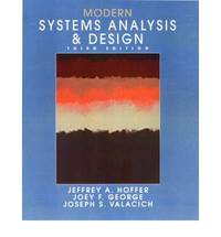 Modern Systems Analysis and Design (International Edition)