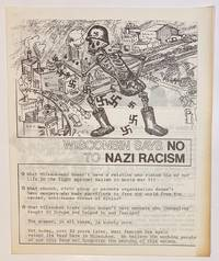 image of Wisconsin says no to Nazi racism