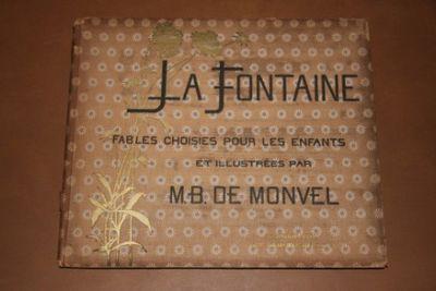Paris: Librairie Plon. Hardcover. Fair. Monvel, M. B. De. Oblong 10.5 By 9 Inches. Undated, circa 19...