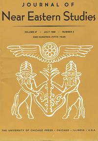 Journal of Near Eastern Studies (Vol 47, July 1988, No. 3)