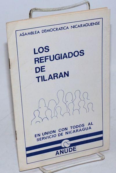 San Jose, Costa Rica: ANUDE / Asamblea Nicaraguense de Unidad Democratica, 1980. Pamphlet. 16p., 5.5...