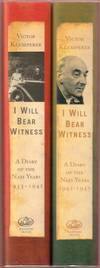 I Will Bear Witness