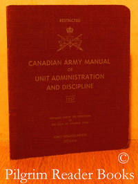 image of Canadian Army Manual of Unit Administration and Discipline.
