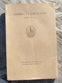 image of SIERRA CLUB BULLETIN February 1936 Volume XXI Number 1