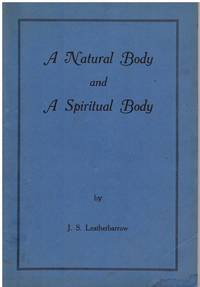 image of A Natural Body and a Spiritual Body. Some Worcestershire encounters with the Supernatural