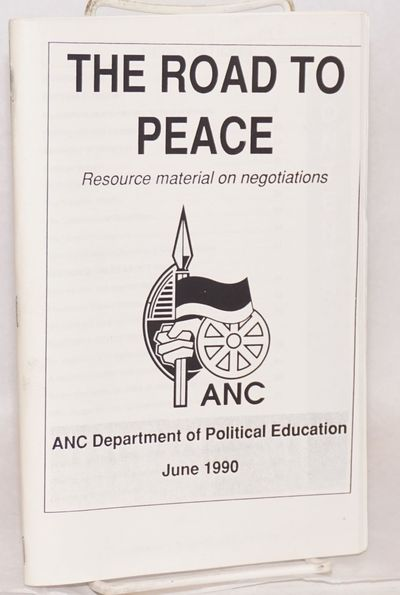 Marshalltown: ANC Department of Political Education, 1990. 88p., 5.5x8.5 inches, introduction, inter...