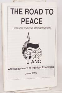 image of The road to peace; resource material on negotiations