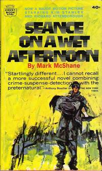 Seance on a Wet Afternoon by Mark McShane - Paperback - Vintage Paperback First Printing - 1965 - from Out of this World Books (SKU: 00520)