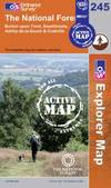 image of The National Forest (OS Explorer Map Active)