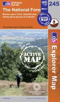 The National Forest (OS Explorer Map Active) by Ordnance Survey - Paperback - from World of Books Ltd and Biblio.com