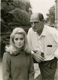 image of Belle de jour (Original photograph of Catherine Deneuve and Luis Bunuel from the set of the 1967 film)