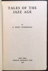 Tales of the Jazz Age by F. Scott Fitzgerald - 1st - 1922 - from Appledore Books, ABAA and Biblio.com
