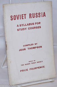 image of Soviet Russia: A syllabus for study courses