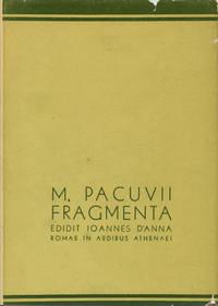 M. Pacuvii Fragmenta Edidit Ioannes D'anna / M. Pacuvio, Giovanni D'Anna