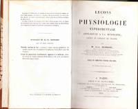 Leçons de Physiologie Expérimentale Appliquée a la Médicine, Faites au Collége de France.