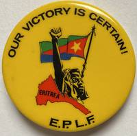 image of Our victory is certain! ? EPLF [pinback button]