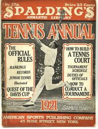 [TENNIS] SPALDING'S LAWN TENNIS ANNUAL 1921