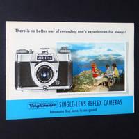 Voigtlander Single-Lens Reflex Cameras Brochure