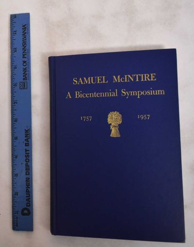 Salem, MA: Essex Institute, 1957. Hardcover. VG (shows some wear at the corners, but otherwise in gr...