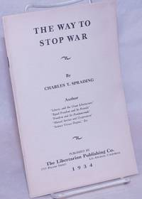 image of The Way to Stop War