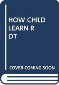 image of How Children Learn