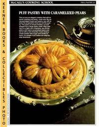 image of McCall's Cooking School Recipe Card: Pies, Pastry 22 - Pear Feuilletes  With Caramel : Replacement McCall's Recipage or Recipe Card For 3-Ring  Binders : McCall's Cooking School Cookbook Series