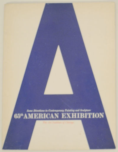 Chicago, IL: The Art Institute of Chicago, 1962. First edition. Softcover. Exhibition catalog for a ...