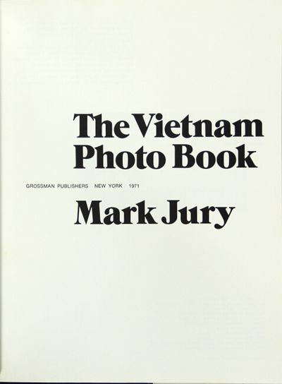 New York: Grossman Publishers, 1971. First edition, 4to, pp. 160; fine copy in a fine, price-clipped...