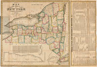 The Tourist's Map of the State of New York Compiled from the Latest Authorities