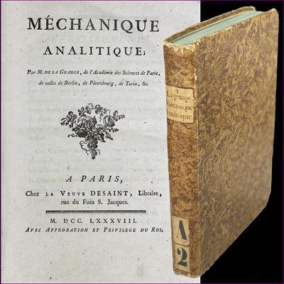 Méchanique analitique. A Paris :...