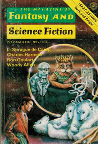 image of The Magazine of Fantasy and Science Fiction. Vol 53 No 6 December 1977
