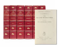 The Second World War Finely bound in 6 volumes