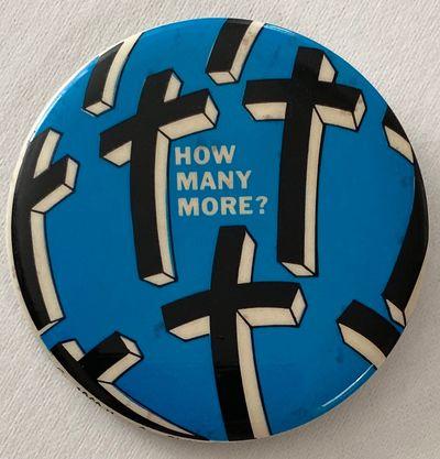 Philadelphia: Horn Co, 1969. Large 2.5 inch diameter pin, a few small spots in the field.