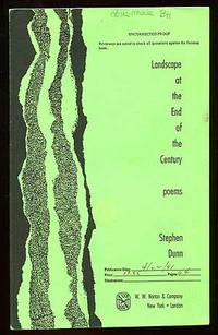 New York: W.W. Norton, 1991. Softcover. Near Fine. Uncorrected Proof. Spot on the front wrap, else f...