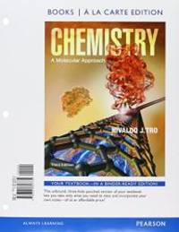 image of Chemistry: A Molecular Approach, Books a la Carte Edition and Student Solutions Manual forText (3rd Edition)