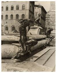 image of Photograph of the Fountain of Neptune in Florence