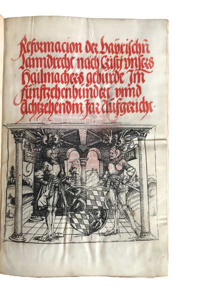 Reformacion der Baÿrischen Lanndrecht