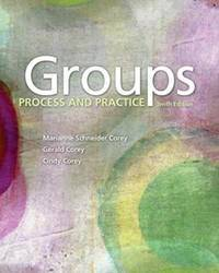 Groups: Process and Practice by Marianne Schneider Corey, Gerald Corey, Cindy Corey - 2017-01-01
