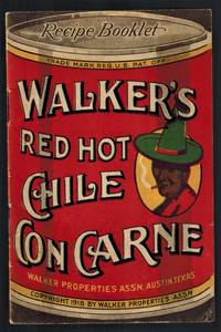 (Texana) Walker's Red Hot Chile Con Carne Recipe Booklet