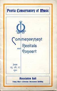 Commencement Recitals and Concert, June 25, 26, 27, 1901