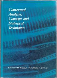 Contextual Analysis: Concepts and Statistical Techniques